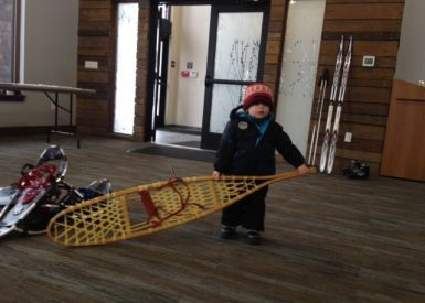 Winter Fun Day 2018 Snowshoes